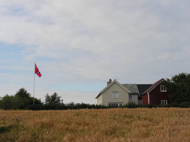 Jogården, i Ørland kommune, Sør-Trøndelag.